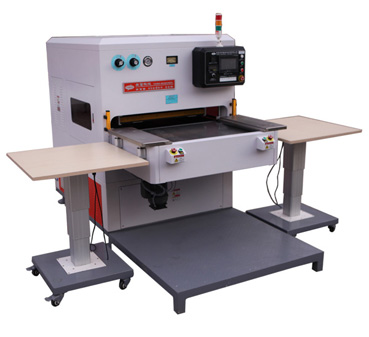 双工位单人操作柔软线胶盒高频熔断机