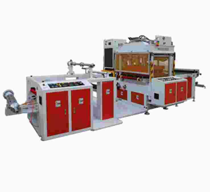 油压式柔软线胶盒高频熔断机
