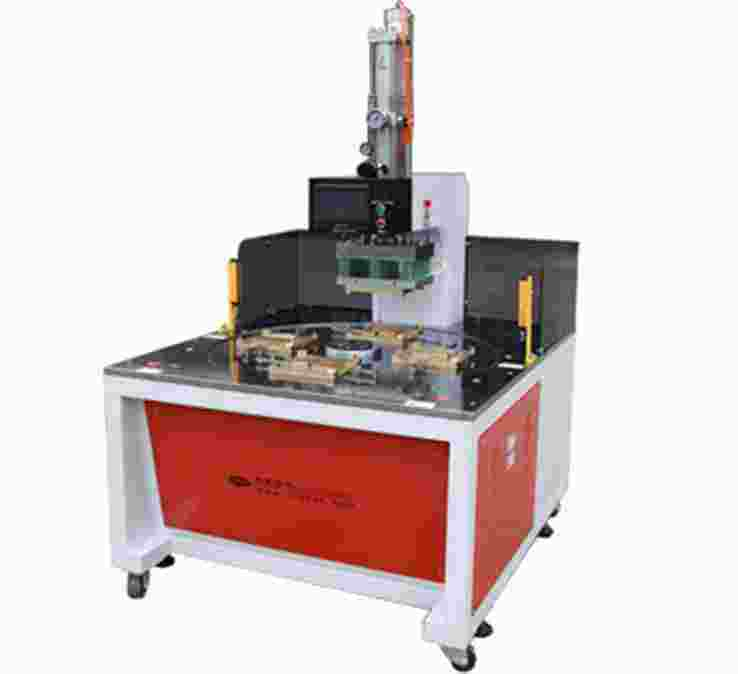 自动圆盘四工位手机皮套热压熔接机S-6000