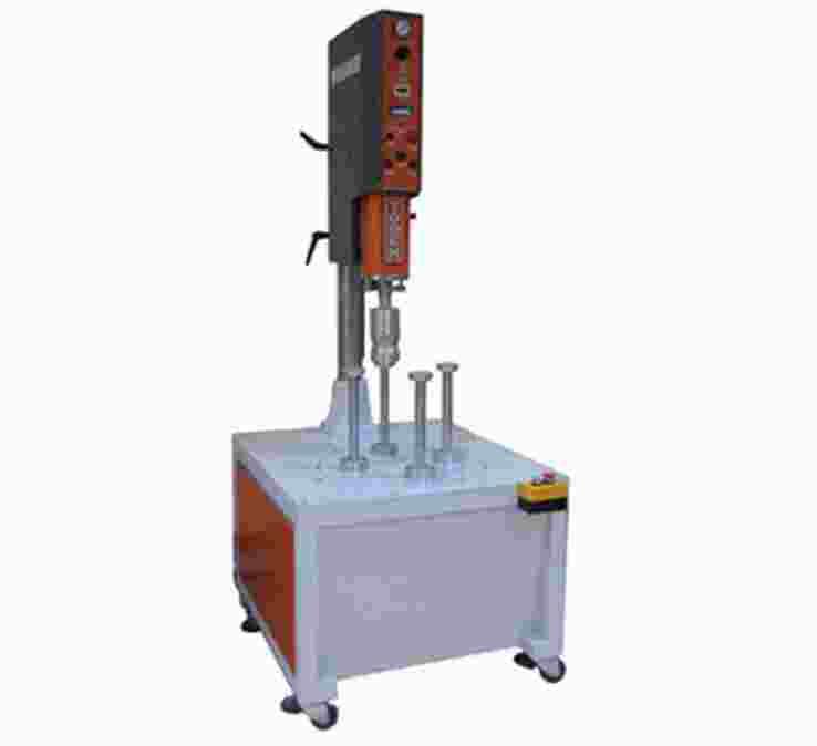 PVC圆筒焊底机
