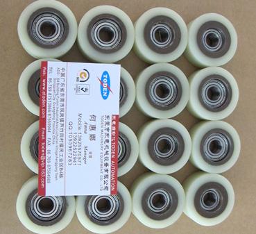 圆筒机专用中号包胶轮Φ23