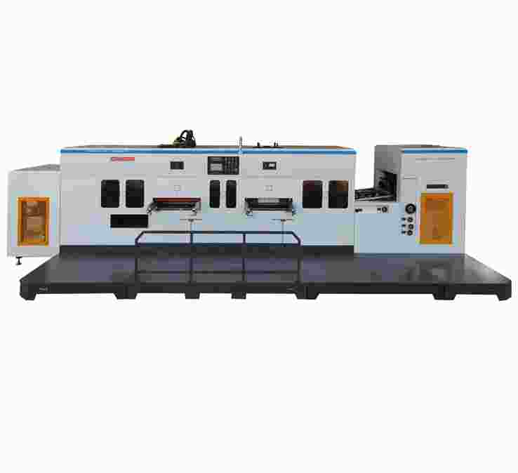 PVC/PET/PP柔软压痕模切复式机